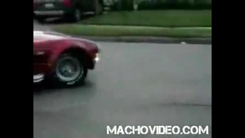 Девка разбила авто за поллимона баксов AC Cobra