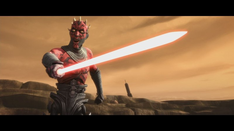 Star Wars: The Clone Wars - Obi Wan Adi Gallia vs. Darth Maul Savage Opress [1080p]