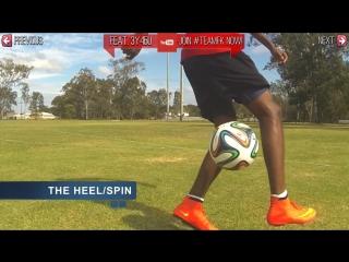 Neymar skills crazy football soccer skill move tutorial