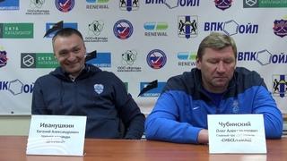 Пресс-конференция О.Чубинского и Е. Иванушкина