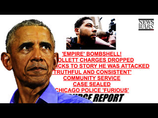 Jussie Smollett Charges Dropped To Protect Obama's Involvement