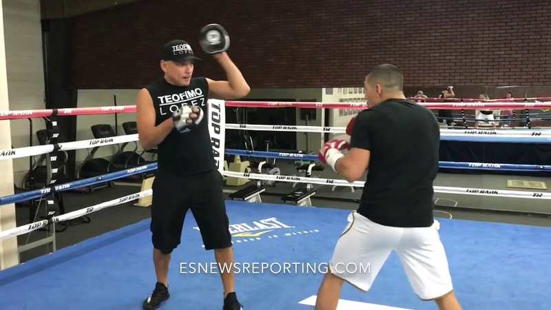 Must See - Boxing Star Teofimo Lopez Super Athletic Skills EsNews boxing