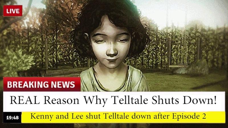 REAL Reason Why Telltale are Shutting Down *EAR RAPE*