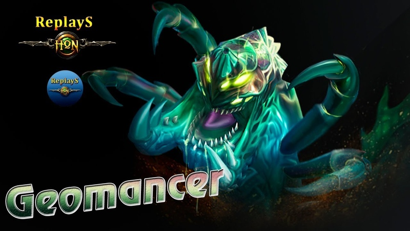 HoN replays Father of low MMR Geomancer Imbabody Gold II