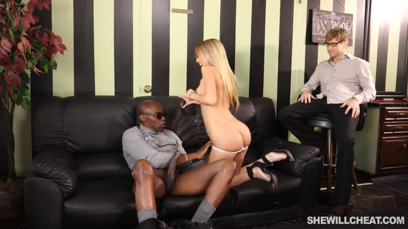 Slutwife Kat Dior Cheating On Husband With Giant Black Dick Blonde, Ebony, Cuckold, Cumshot, , Big Dick,