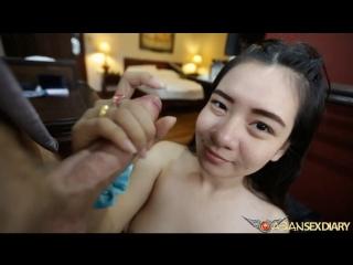 Asiansexdiary 2016 / тайская проститутка prostitute азиатка тайка asian thai porn тайское порно sex creampie минет сосет blowjob
