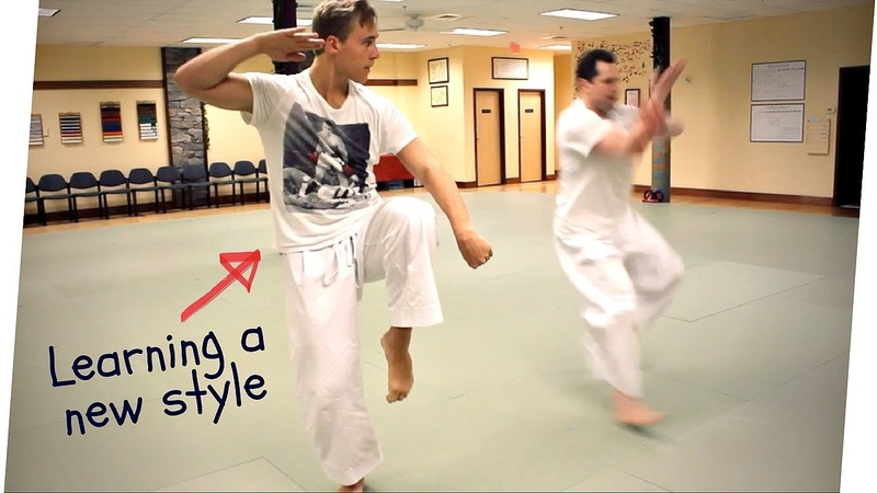 DON'T LET YOUR STYLE LIMIT YOUR KARATE Jesse Enkamp