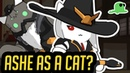 [NEW HERO] Ashe as a CAT - NYASHE - Katsuwatch Overwatch Cats