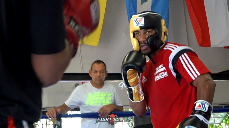 YURIORKIS GAMBOA SHOWS UP TO SPARRING IN A ROLLS ROYCE LIKE A CUBAN BOSS