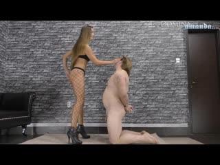 Cruel mistresses full hd slap and spit amanda femdom