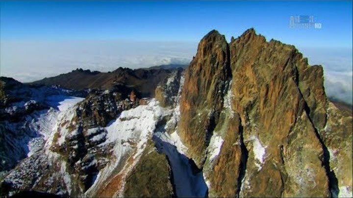 В дебрях Африки Гора Кения Ледяное сердце Африки