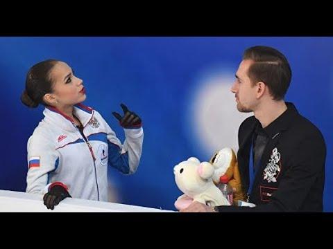 Алина Загитова Даниил Глейхенгауз Time Alina Zagitova Daniil Gleichengauz
