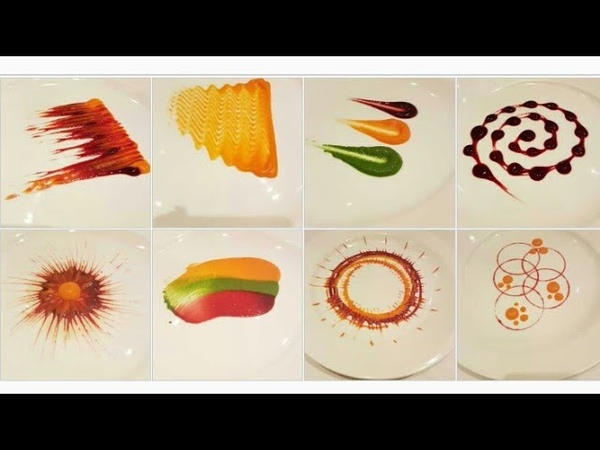 Types of Colorful Plating techniques Part 1 Art on the plate By MONIKA TALWAR