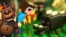 ЭНДЕР ДРАКОН и Пять Ночей с Фредди - Лего НУБик Майнкрафт - Мультики LEGO Minecraft Анимация