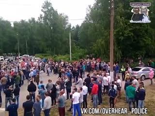 Конфликт в Чемодановке. Народный сход