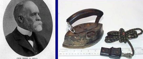 6 июня 1882 года американец Генри Сили запатентовал электроутюг ...