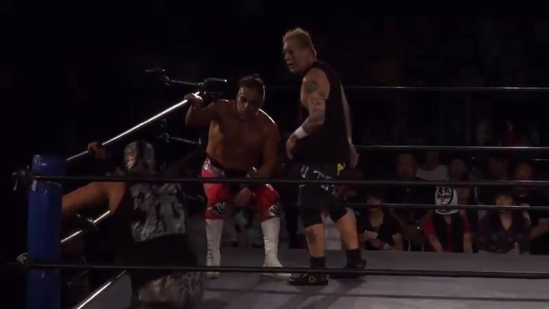 Rey Wagner Kendo Kashin vs El Hijo del Dr Wagner Jr NOSAWA Rongai Tokyo Gurentai Tokyo Love 8