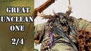 2 4 How to paint Great Unclean One Base colours on details