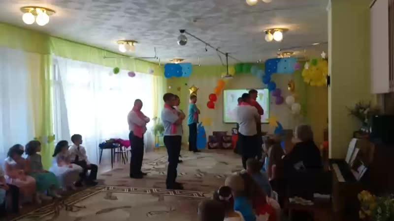 Танец папы с дочкой💐😢