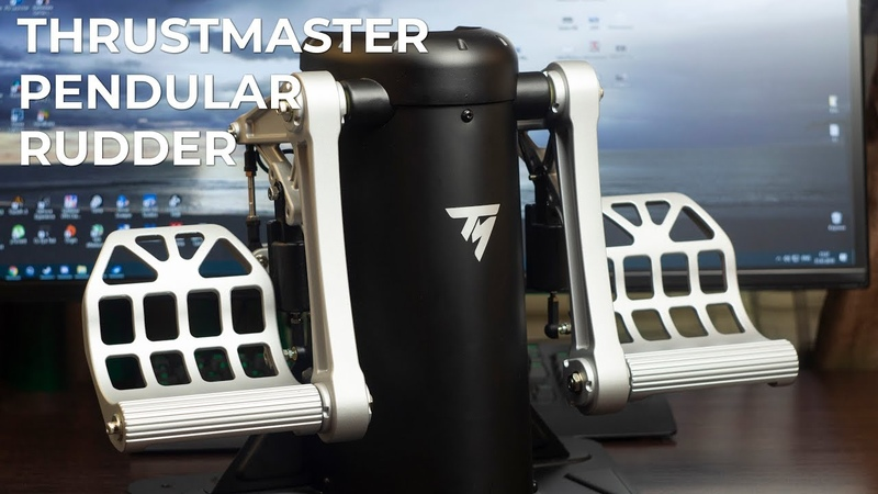 Обзор авиационных педалей — Thrustmaster Pendular Rudder - TPR