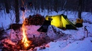 Canada Winter Camping in Algonquin Park 24 Cold