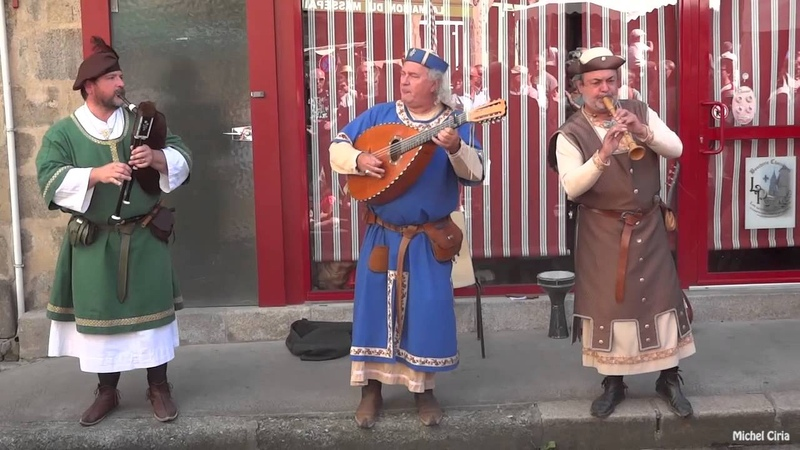 La chanson médiévale Mardi Gras Ensemble Pastourel