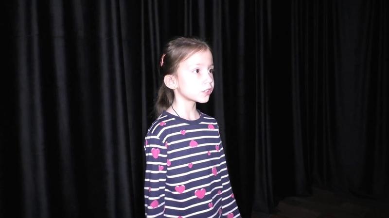 Вероника Каткаева читает стих Н. Заболоцкий Некрасивая девочка