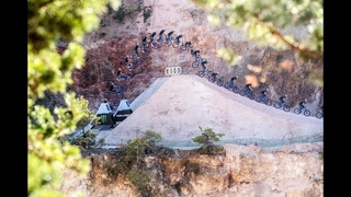 Worlds First Quadruple Tail Whip on A Mountain Bike | The Audi Nines MTB 2018