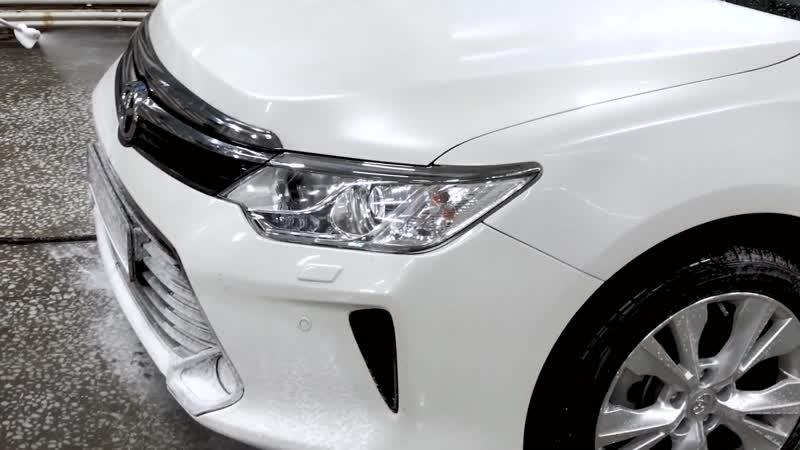 Toyta camry Car wash