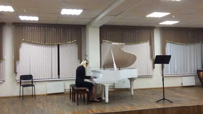 Л. Бетховен «Марш» ор45, №1 для фортепиано в 4 руки. Исполняют: Александра Васюкова и Елена Вельма