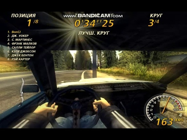 FlatOut 2 Timberlands 1 Derby Class All Laps 2:25.59 Chili first person