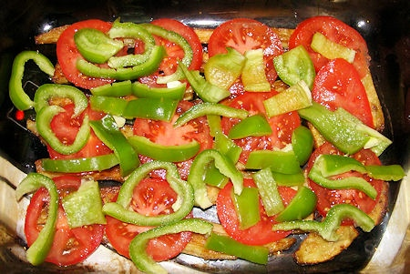Баклажаны с помидорами и чесноком в духовке: лучшие рецепты