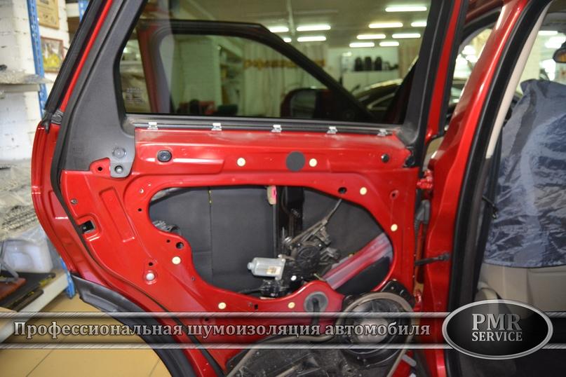 Комплексная шумоизоляция Land Rover Evoque, изображение №15