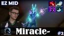Miracle - Leshrac EZ MID   Dota 2 Pro MMR Gameplay 2