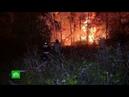 Мощный пожар на складе ГСМ под Нижним Новгородом полностью ликвидирован