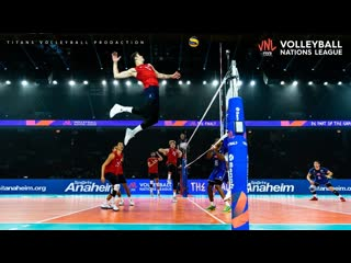 Top 20 volleyball quick spikes mens vnl 2019