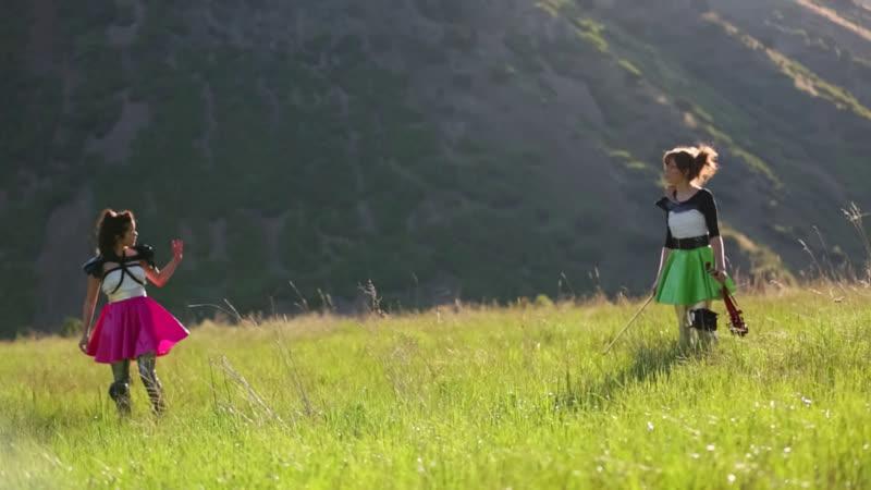 Lindsey Stirling Megan Nicole - Starships (Nicki Minaj Cover) (2012) HD 1080