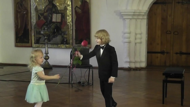 Elisey Mysin F. Chopin Mazurka op.7 n.1 Festival Alma Mater Susdal 年轻的钢琴家和作曲家 8 years