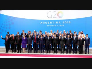 Участники саммита G20 в Аргентине.