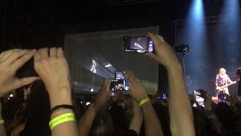 Голограмма Михаила Горшенёва - Воспоминания о былой любви- 30 лет группе - Питер - СКК 19.07.18