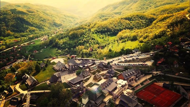 Profesionalno snimanje dronom Drvengrad 4K