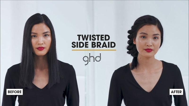 How To Create A Twisted Side Braid | ghd Hairstyle How-To