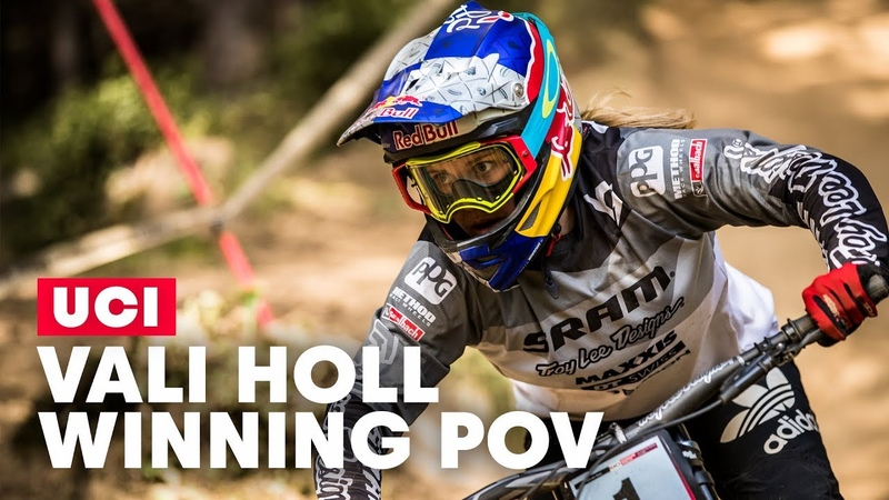 How a Junior Downhill World Champion Sees Life | Vali Höll Winning POV from Mont-Sainte-Anne