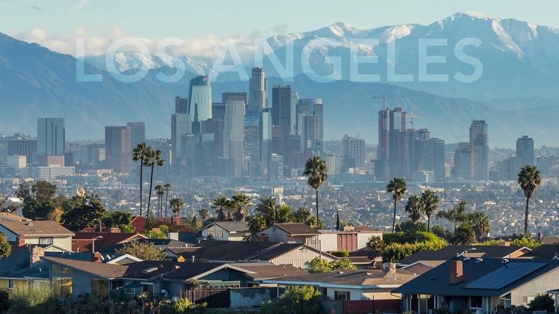A Winter in Los Angeles 4K Timelapse Film