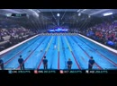 Mens 100m Backstroke ISL Naples