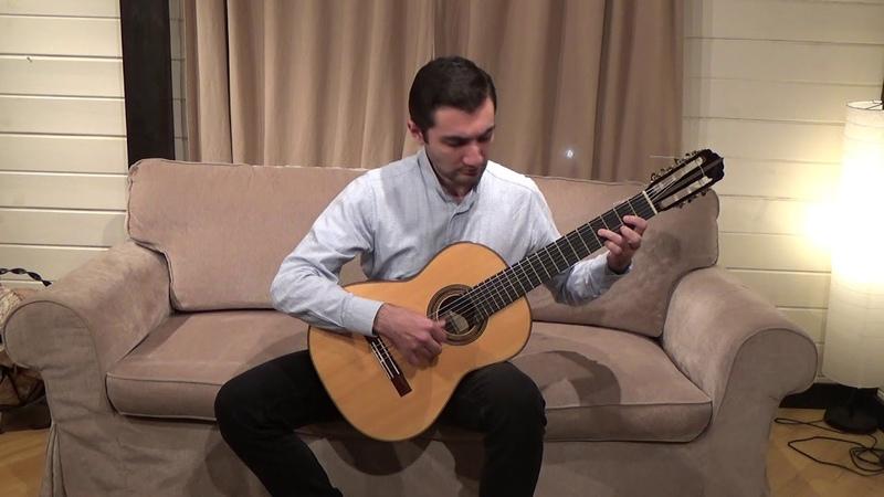 М.Т. Высотский - Якъ сказала матуся|Русская семиструнная гитара|Артур Харатян