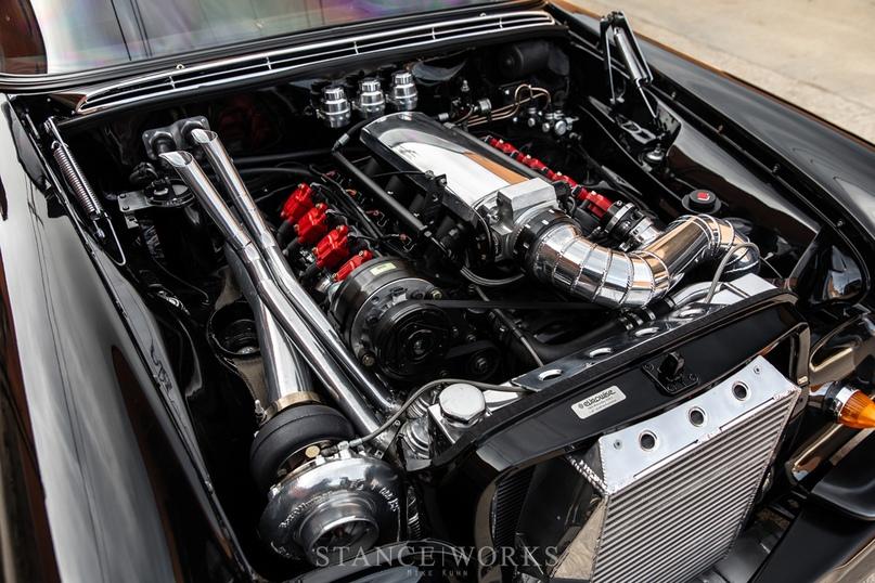 Mercedes-Benz W108 с турбированным 5.3-литровым LS, изображение №10
