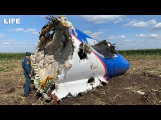Как самолёт Уральских авиалиний разрезали на металлолом. Таймлапс-видео