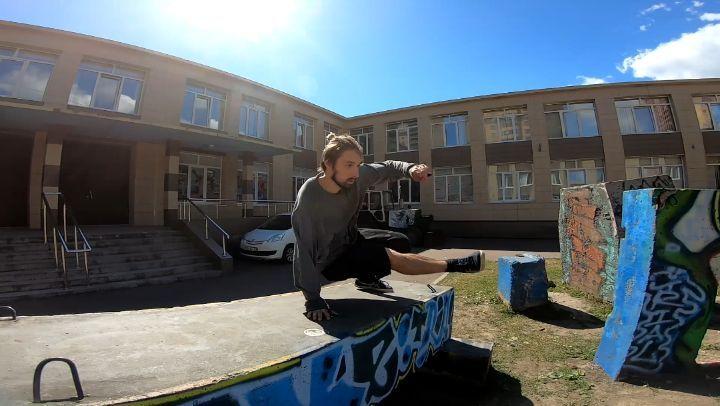 Marin on Instagram Со звуком pk parkour play flip fitness freerun fun freerunning flow creative tricking tvist traning true acroba