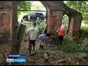 Иностранные студенты восстанавливают храм в Ростовском районе